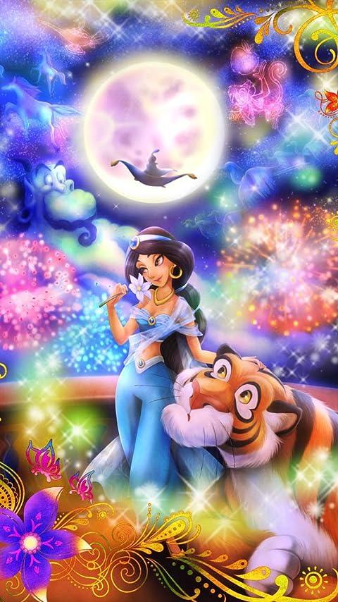 ディズニー アラジン 恋の魔法にのって(ジャスミン)  XFVGA(480×854)壁紙 画像31884 スマポ