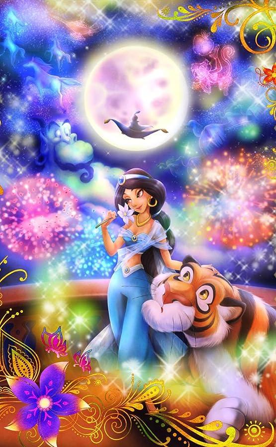 ディズニー アラジン 恋の魔法にのって(ジャスミン)  iPhone4s 壁紙 視差効果  画像32500 スマポ