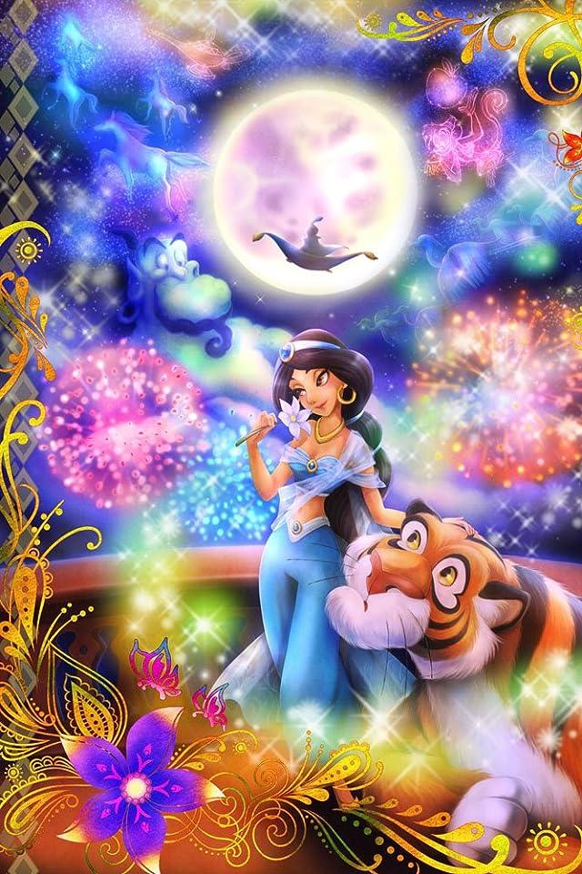 ディズニー アラジン 恋の魔法にのって(ジャスミン)  iPhone(640×960)壁紙 画像31424 スマポ