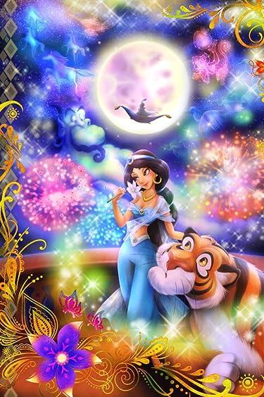 ディズニー  iPhone/Androidスマホ壁紙(640×960)-11 - アラジン 恋の魔法にのって(ジャスミン)
