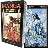 タロットカード 78枚 タロット占い 【 マンガ タロット Manga Tarot 】日本語解説書付き [正規品]