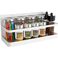 YIUKEA レンジラック 冷蔵庫サイドラック マグネット プレート 磁石ラック 小物置き 貼り付け マグネット 冷蔵庫…