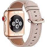 WFEAGL コンパチブル Apple Watch バンド,は本革レザーを使い、iWatch SE,Series 6/5/4/3/2/1、Sport、Edition向けのバンド交換ストラップです コンパチブル アップルウォッチ バンド(38mm 40