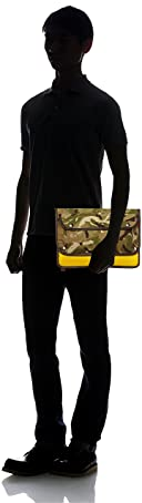 John Chapman Camo iPad Clutch: Gold