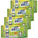 ライオン (LION) シュシュット 猫トイレ用 除菌クリーナー シートタイプ 20枚入×4個パック (まとめ買い)