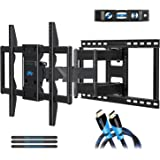 Mounting Dream Premium Full Motion TV Wall Mount Bracket Fits 16, 18, 24 inch Wood Stud Spacing, TV Mount with Articulating A
