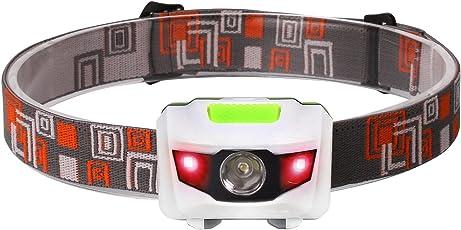 Soniku LEDヘッドランプ 4モード点灯 IPX6防水仕様 角度調整可能