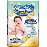 MamyPoko Extra Dry Pants M48, 48 count
