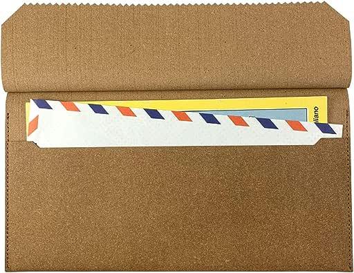 SWELL/スウェル リサイクルレザー Travel envelope/トラベル エンベロープ 【トラベルポーチ 旅行 パスポート 航空券 チケット各種 ノベルティ】