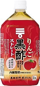 ミツカン りんご黒酢 ストレート 1000ml×12本 機能性表示食品