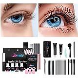 Libeauty Lash Lift and Tint At Home,Black Eyelash lift kit,Eyelash Dye and Lift 2 in 1, Voluminous Tinting Make Lash Lifted a
