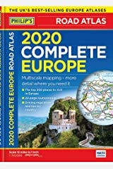 Philip's Complete Road Atlas Europe: (A4 with practical 'flexi' cover) Flexibound