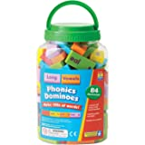 Learning Resources Educational Insights Phonics Dominoes Long Vowels,Multi,2941