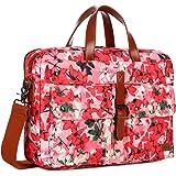 BAOSHA Multicoloured 17inch Canvas Laptop Computer Bag Messenger Bag Briefcase for Women BC-07