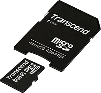 Transcend microSDHCカード 8GB Class10 TS8GUSDHC10