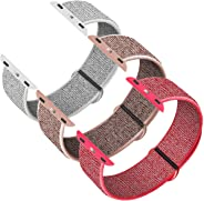 INTENY Sport Band Compatible with Apple Watch 38mm 40mm 42mm 44mm, Soft Sport Loop, Strap Replacement for iWatch Series 5, Se