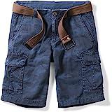 OCHENTA Men's Lightweight Cargo Shorts with Multi Pockets Casual Wear