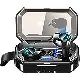 【Bluetooth5.0 イヤホン 120時間連続駆動】 Bluetooth イヤホン ワイヤレスイヤホン 3Dステレオサウンド 自動ペアリング 両耳 左右分離型 CVC8.0ノイズキャンセリング対応 IPX7防水 ブルートゥース イヤホン Sir