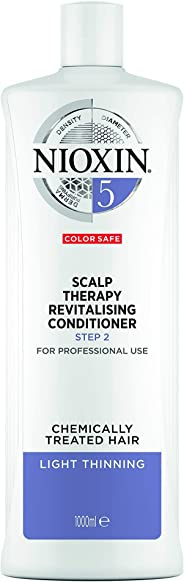 Nioxin System 5 Scalp Therapy Revitalising Conditioner for Chemically Treated Hair with Light Thinning, 1L