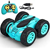 Meryi Mini Stunt RC Cars Toy, 4WD 2.4Ghz Remote Control Car Double Sided Rotating Vehicles, Kids Toy for Boys & Girls Birthda