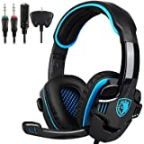 SADES Gaming Headset Gaming Headphones For PS4/Xbox One/PC/Laptop/Xbox 360/MAC/Nintendo Switch with Microphone