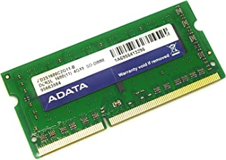 ADATA ノートPC用メモリ PC3L-12800(DDR3L-1600) 1.35V (低電圧) - 1.5V 両対応 SO-DIMM 4GB 204pin Side3