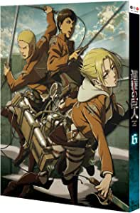 進撃の巨人 6 [初回特典:Blu-ray Disc ビジュアルノベル「リヴァイ&エルヴィン過去編」他(制作協力:ニトロプラス、プロダクション・I.G)] [DVD]
