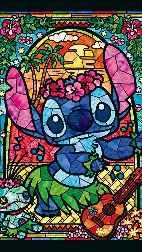 ディズニー スティッチ ステンドグラス XFVGA(480×854)壁紙 画像44880 スマポ