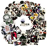 100PCS Tokyo Ghoul Stickers,Anime Tokyo Ghoul Stickers for Laptop Phone Water Bottle Luggage Car Motorcycle Bicycle,DIY Decor