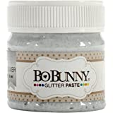 Bo Bunny Double Dot Glitter Paste Silver