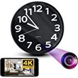 NinjaPro 2-in-1 Hidden Camera Clock with 1080P HD Video Capturing, Night Vision, Motion Detection and Live Wireless App Acces