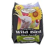 Green Valley Grains Wild Bird Mix Food 2 kg, 2 Kilograms