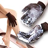 Home Spa HEAVY Exfoliating Hydro Full body scrub gloves - Show & Bath accessories - Deep clean Dead skin and Improves blood c