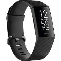 Fitbit Charge4 GPS搭載フィットネストラッカー Black/Black L/Sサイズ FB417BKBK…
