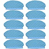 Monland 10Pcs Mop Cloth Pads Set for Deebot Ozmo 920 950 Vacuum Cleaner Parts Replacement Home Accessories