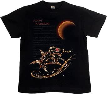 [GENJU] Tシャツ サメ 鮫 トライバル アメカジ 裏もデザイン有 メンズ キッズ