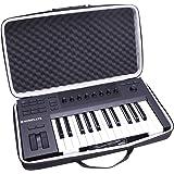 LTGEM Hard Case for Native Instruments Komplete Kontrol A25 Controller Keyboard - Travel Protective Carrying Storage Bag