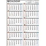 2021年 書き込み式1年カレンダー A2【K15】 ([カレンダー])