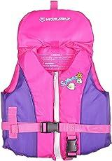 HIKING 子供用 ライフジャケット キッズ 幼児 シュノーケリング 道具 フローティング ベスト 股ベルト付き 2色