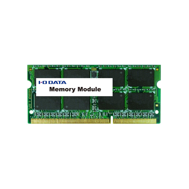 アイ・オー・データ SDY1333-2G PC3ー10600 DDR3ー1333 対応 20 4ピン S.O.DIMM 2GB 1個