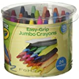 Crayola My First Crayola Easy-Grip Jumbo Crayons 24 by Grip Easy
