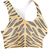 Rainbow Rules Tiger Print Sports Bra
