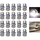 Cargo LED 20 Pcs Extremely Super Bright 1156 1141 1003 1073 BA15S 7506 50 SMD 3014 LED Replacement Light Bulbs for RV Indoor