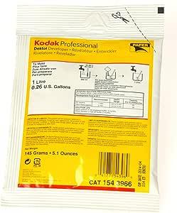 Kodak ケミカル デクトール デベロッパー 1リットル用 (粉末) 1543966