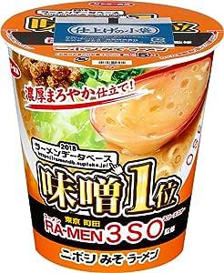 サンヨー食品 ラーメン スリーエスオー監修 ニボシみそラーメン 99g ×12箱