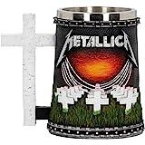 Nemesis Now Metallica-Master of Puppets Tankard, Resin, Black, One Size