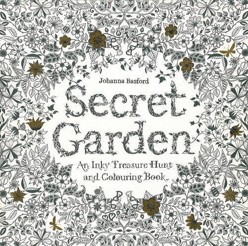 Secret Garden: An Inky Treasure Hunt and Coloring Bookの詳細を見る