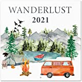 Erik - Wanderlust Wall Calendar 2021 11.8 x 11.8 inches (12 Months - Free Poster Included)