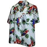 Pacific Legend Parrots Hawaiian Shirt