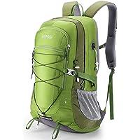 軽量ハイキングバックパック、45Lキャンプデイパック、トラベルバッグ、防水